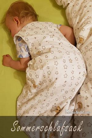 Dünner Sommerschlafsack Baby