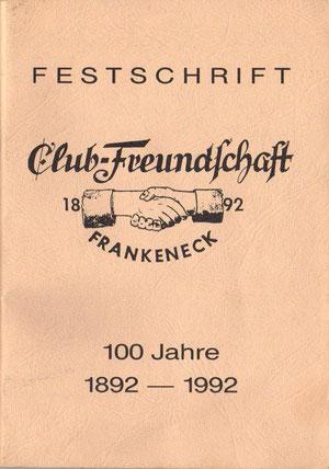 Festschrift zu Feier 15.-17. Mai 1992