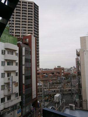 竹ノ塚、なかなか都会ですよ。