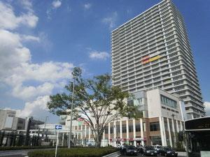 越谷東口駅前再開発とセコムのタワー