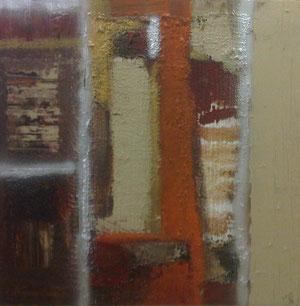 Acryl mit Spachtel auf Leinen 100 x 100 cm, 2010