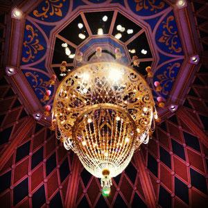 Cinderella Castle chandelier.