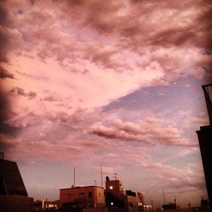 Shintomicho sky.