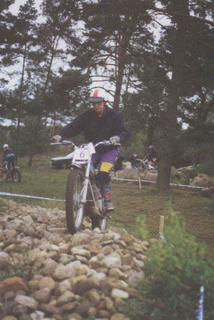 Beim Trial in Hohnstorf