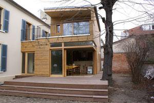 exemple de réalisation en bois