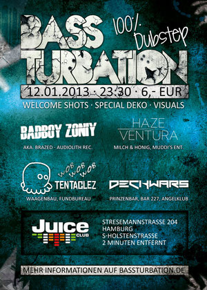 Bassturation Dubstep Party Hamburg