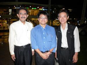 Mr.Chakkrt and Mr.Sakai