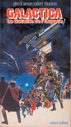Laffont, L'age des étoiles, 11 volumes dont l'un est une étude historique de la guerre entre Cassiopée et le Nuage de Magellan au 28 ème siècle: Galactica.