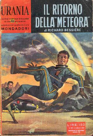 Urania N° 207. Comme quoi nul n'est prophète à l'étranger puisque traduit bien plus tard que d'autres. 1959.