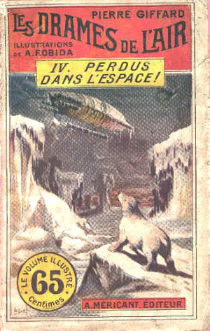 """C'est fou tous ces débris qui flottent dans l'espace, heureusement que Saint Robida a pu les """"croquer"""" avant qu'ils ne disparaissent."""