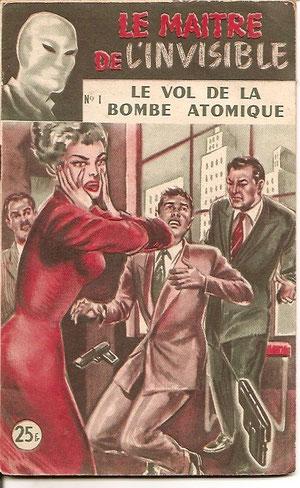 Editions SEG, Le Maître de l'invisible, série commencée par Brooker et terminée par Norwood entre 1945 et 1956.