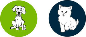 Krankheitsverlauf und Symptome bei einer Giardiose von Hunden und Katzen