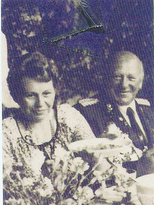 1980 Rudi Buddeke und Magdalene Meyer zu Lösebeck