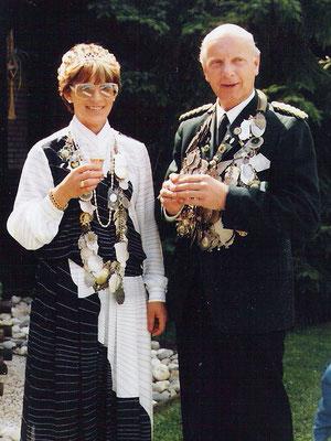 1986 Karl-Werner Grieß und Angelika Brinker