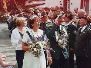 1984 Uwe Tholen und Gabi Raabe
