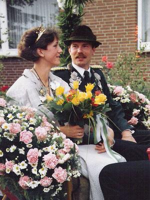 1988 Dr. Hans Quast und Christiane Ober-Grefenkämper