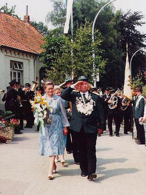 1981 Heinz Leeker und Ilse Wienke