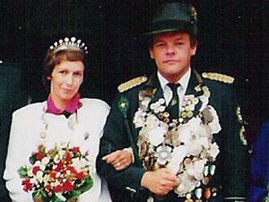 1985 Gerhard Veregge und Jutta Wesseler