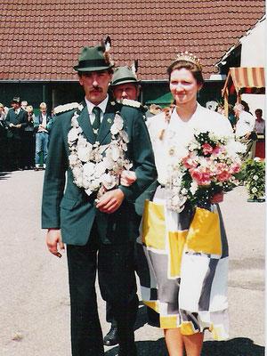1987 Egon Mandrella und Sabine Dunkhorst