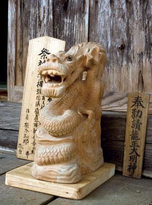 蛇王神社のご神体