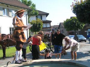 Gautschfeiern werden traditionell abgehalten!