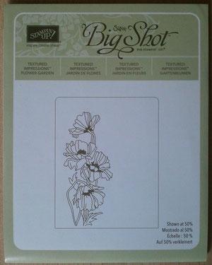 """Prägeform """"Gartenblumen"""", wie neu, 5,00€"""