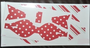 Schleifenset für 5 große und 5 kleinere Schleifen zum Zusammensetzen -2,00€