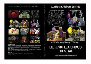 """Animacijos studijos išleistas DVD diskas """"Lietuvių legendos ir mitai"""""""