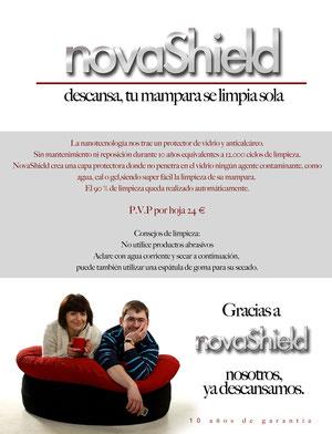 Tratamiento limpieza Novashield