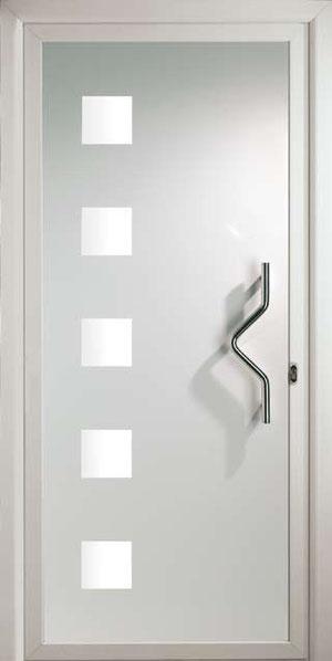 Panel fresado para puerta de entrada de aluminio Havel