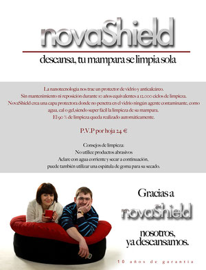 Tratamineto Novashield antical