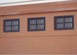 Ventanas opcionales puerta garaje