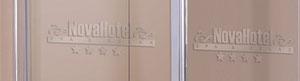 Serigrafia personalizada para la mampara de ducha