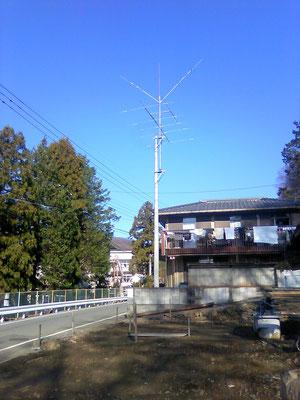 2011.01 常置場所のアンテナ