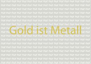 Golg ist nur Metall