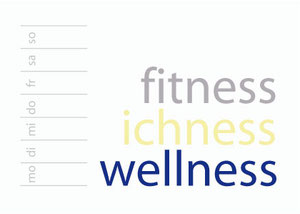fitness - iciness - wellness