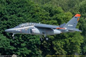 Alphajet de la Force Aérienne Belge