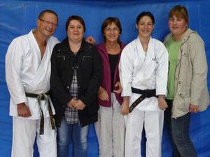 Gégé, Sandrine, Françoise, Laura,Yannick