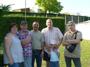 Sandrine, Yannick, Christophe, Pascal, Cloé, Emmanuel