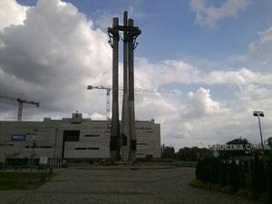 Mahnmal zum polnischen Werftarbeiteraufstand im Jahre 1980