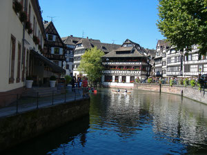 Wasserwege in Strasbourg