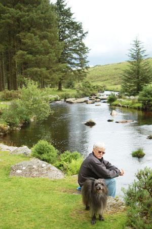 unser letzter Ferientag vor der Abreise - im Bellever Forest / Dartmoor