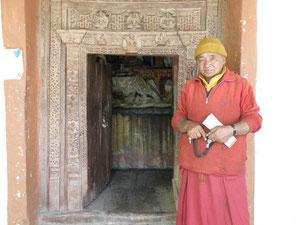 アルチ僧院の鍵番