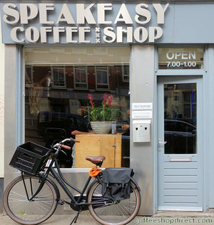 Coffeeshop Weedshop Speak Easy Amsterdam