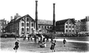 Manufacture des tabacs de Dieppe en 1905