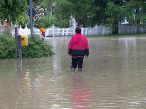 Hochwasser in Mittelfranken