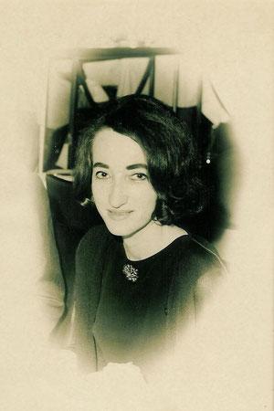Die Autorin in Beirut, 1966
