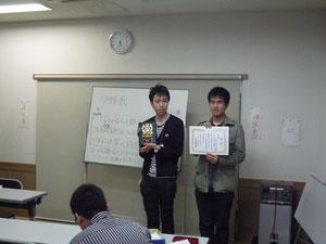優勝された「ITB-てへぺろ(・ω<)」チームです!