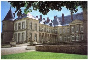 HAROUE (54740), le Château aux 365 fenêtres, par l'architecte Germain BOFFRAND.