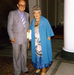 Deauville 1979, Katia et Yves Ciampi.